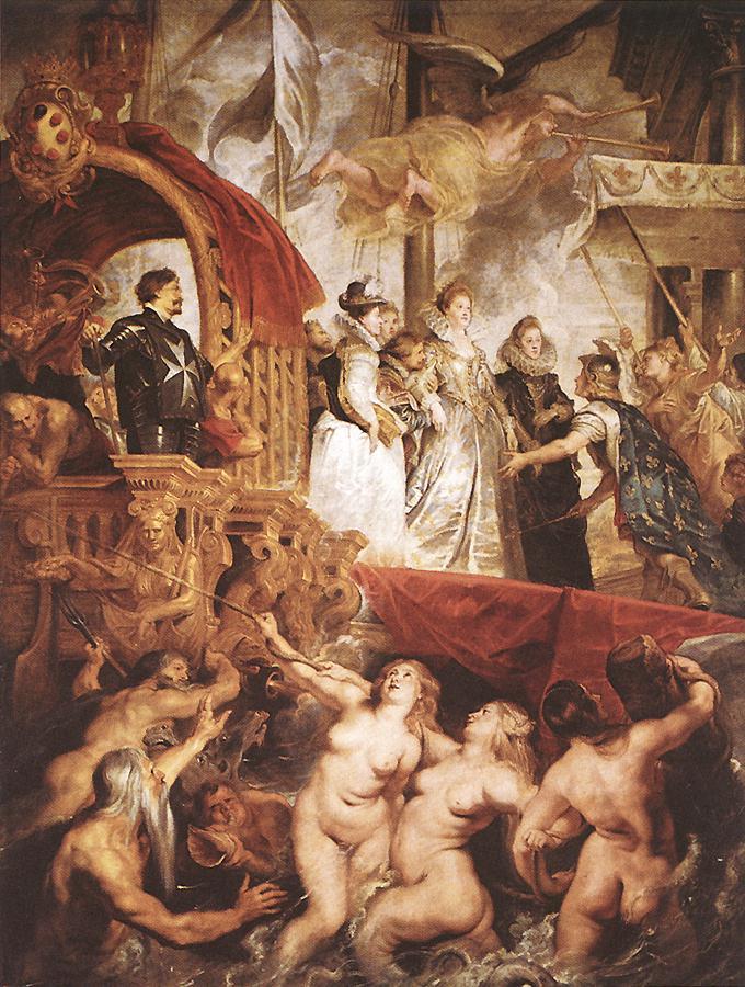 [画像 / マリ・ド・メディシスの生涯]  ロココ絵画はヴァトーから始まる。37歳という若さで肺